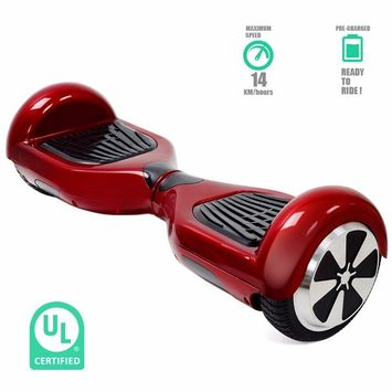 Self Balancing Electric Scooter Hoverboard UL CERTIFIED, Chrome G