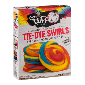 Duff Goldman Tie-Dye Swirls Premium Sugar Cookie Mix