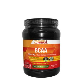 Pure & Primal Pure Primal BCAA - Fruit Punch