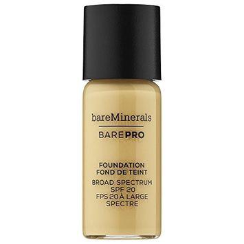 bareMinerals BAREPRO Performance Wear Liquid Foundation deluxe sample in Sandstone 16 - .1 oz/ 3 mL