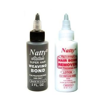Natty Weaving Bond(2oz) + Remover(2oz) Set