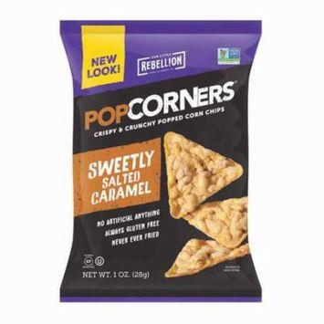 Medora Snacks Popcorners Caramel Popped Corn Chips 1.1 oz Bags - Pack of 40