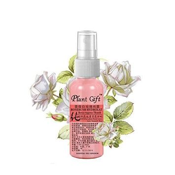 Plant Gifts Pure Natural - Rose White Rose Hydrolat 100% Pure, Allows Skin Filling Elasticity -50ml (1.7 oz)