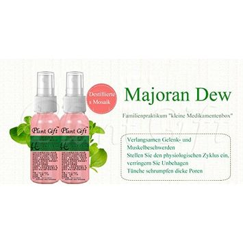 Plant Gift Advanced organic - Marjoram Hydrolat 100% pure, Promote skin collagen, so that the skin moment of water filling, crystal moist 50ml(1.7oz)
