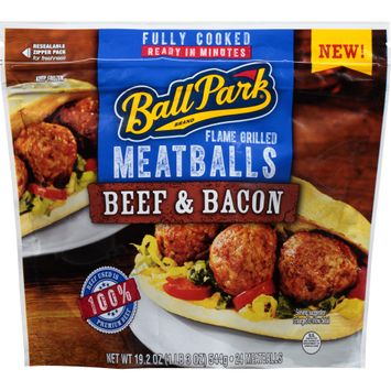 Ball Park® Beef & Bacon Flame Grilled Meatballs
