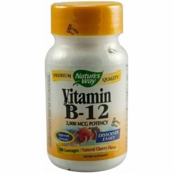 Nature's Way Vitamin B12 Lozenge Capsules, 100 CT