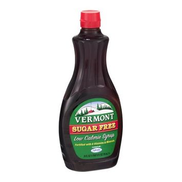 Vermont Syrup, Sugar Free, 24 OZ (Pack of 6)