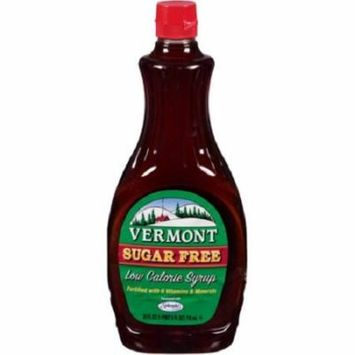 Vermont Syrup Sugar Free Case of 6 24 oz.