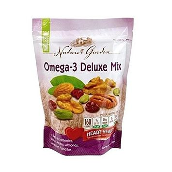 Nature's Garden Omega-3 Deluxe Nut Mix, 26 Ounce