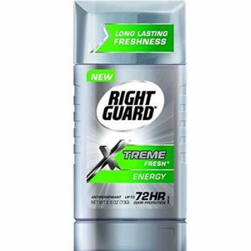 Right Guard Men's Antiperspirant, Xtreme Fresh, 2.6 Ounces (Pack of 4)