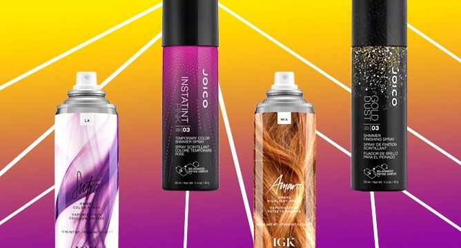 Color-Tinted Hairsprays For The Non-Committal