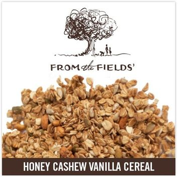 From The Fields Honey Cashew Vanilla Cereal, 10 Pound
