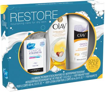 Olay and Secret Mixed Restore Gift Set