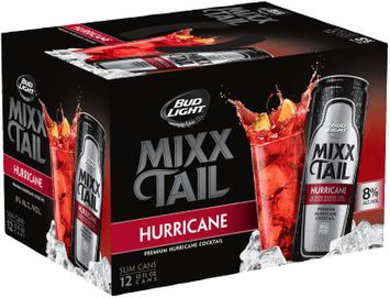 bud light® hurricane mixx tail cocktails 1