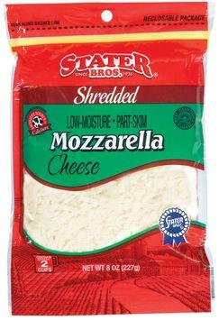 Stater bros Mozzarella Shredded Cheese