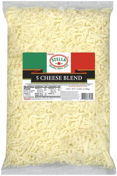 Stella® 5 Cheese Blend Shredded Cheese
