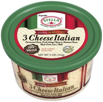 Stella® Freshly Shredded 3 Cheese Italian