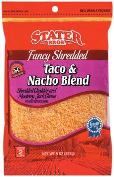 Stater bros Fancy Shredded Taco & Nacho Blend Cheese