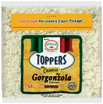 Stella® Toppers® Gorgonzola Crumbled Cheese