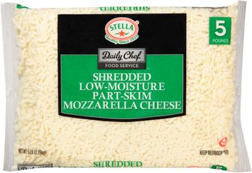 stella® daily chef food service™ shredded low-moisture part-skim mozzarella cheese