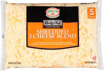 stella® daily chef food service™ shredded 3 cheese blend