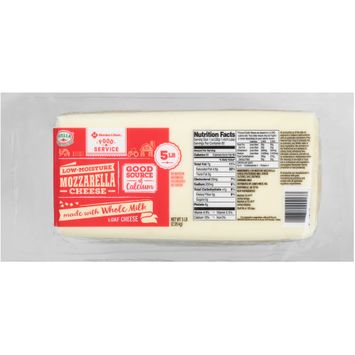 Stella® Member's Mark™ Food Service Low-Moisture Mozzarella Cheese