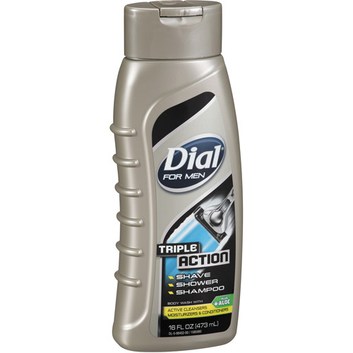 Dial® For Men Body Wash with Active Cleansers/Moisturizers & Conditioners