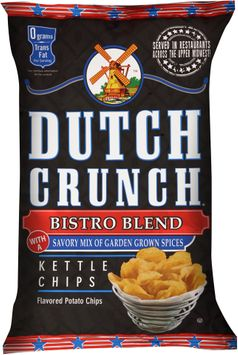 dutch crunch® bistro blend kettle potato chips