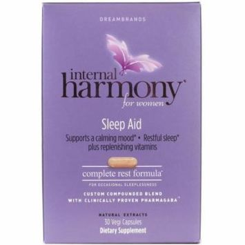 Dreambrands Internal Harmony Sleep Aid, 30 CT