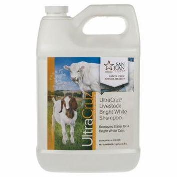 UltraCruz Livestock Bright White Shampoo, 1 gallon