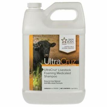 UltraCruz Livestock Foaming Medicated Shampoo, 1 gallon