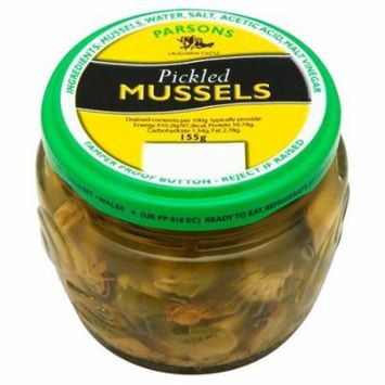 Parsons Welsh Pickled Mussels (155g)