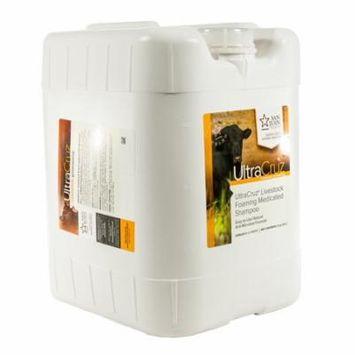 UltraCruz Livestock Foaming Medicated Shampoo, 5 gallon