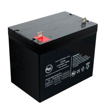 EV Rider Royale 4 12V 75Ah Wheelchair Battery - This is an AJC Brand® Replacement