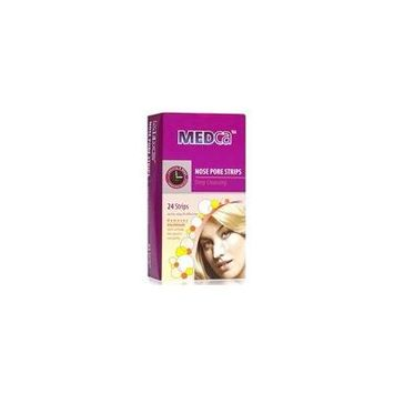 MEDca Nose Pore Strips Quick, easy & effective Deep Cleansing - Count of 24