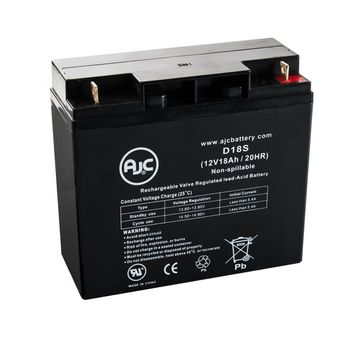 WKA12-18NB 12V 18Ah Wheelchair Battery - This is an AJC Brand® Replacement