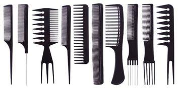 Medex 10-Piece Professional Comb Set