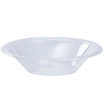 Hanna K. Signature Collection 50 Count Plastic Bowl 12-Ounce Clear