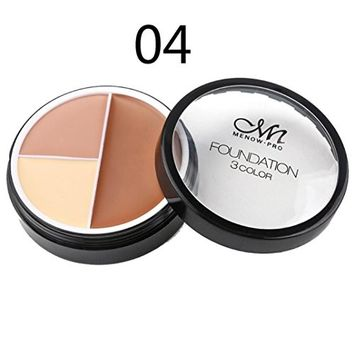 Makeup Cover, Hometom Menow Cream Corrector Shading Highlight Contour To Cover Fine Line Wrinkles (D)