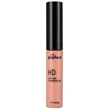 Makeup Cover, Hometom POPFEEL 0.11OZ Liquid Makeup Foundation Moisturizing Waterproof Concealer BB Cream