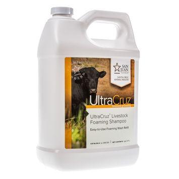 UltraCruz Livestock Foaming Shampoo, 1 gallon refill