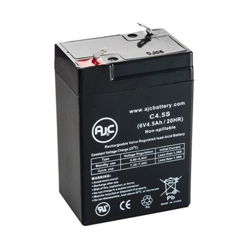 Astralite EU-2-7 6V 4.5Ah Emergency Light Battery - This is an AJC Brand® Replacement