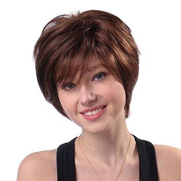 2017 Natural Short Wigs for Women, Human Hair Wig, Short Hair Wig