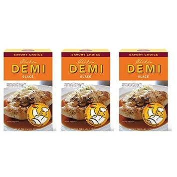 Savory Choice Chicken Demi Glace Reduction Sauce Packet 75gr