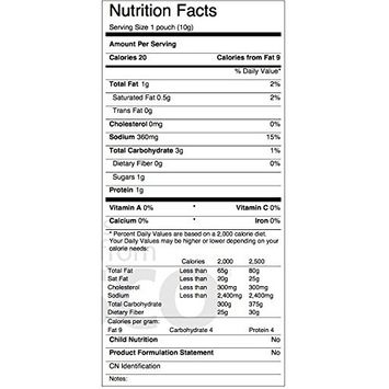 Reduced Sodium Beef Flavor Broth Concentrate, Pack of 50 packets