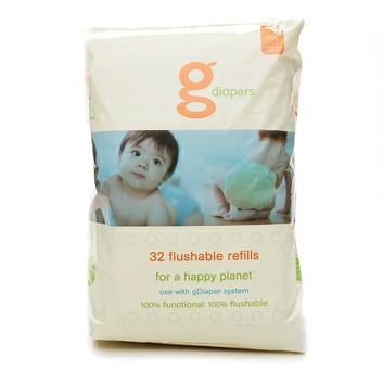 gDiapers Biodegradable gRefills Medium/X-Large
