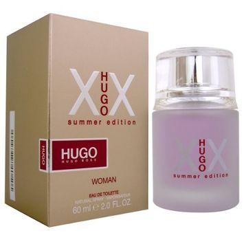 Hugo XX Summer Edition by Hugo Boss for Women 2.0 oz Eau de Toilette Spray