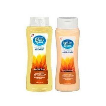 White Rain Volumizing Shampoo & Conditioner Set - Sunshine Grove - 15 oz.