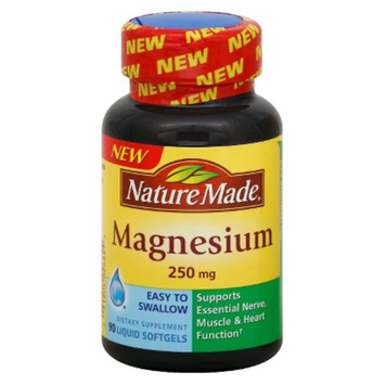 Nature Made Magnesium 250 mg Softgels - 90 Count