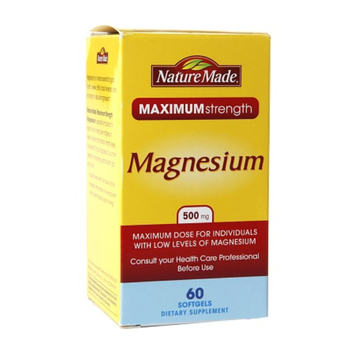 Nature Made Maximumn Strength Magnesium 500mg